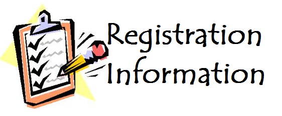 This is the image for the news article titled Registration Information